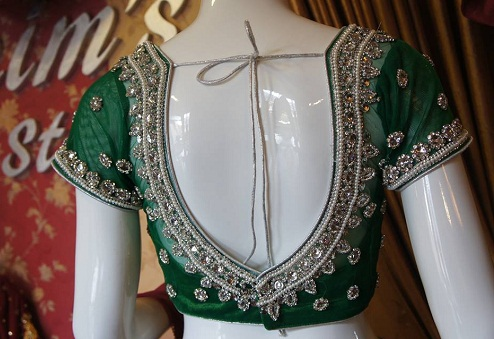 659d9a5cba5d6 30 Impressive Designs of Maggam Work Blouses in India