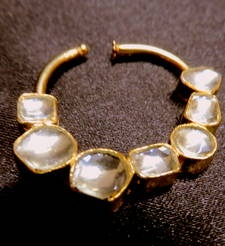 Designer Kundan Nose Ring