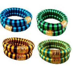 Designer thread bangles