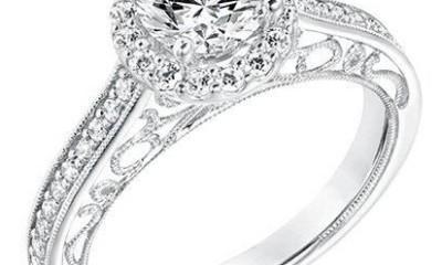 Dual design vintage cut ring
