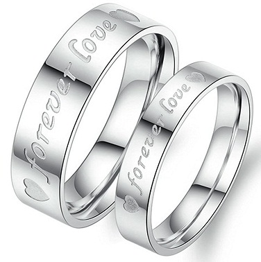 Engraved Rings for Couples
