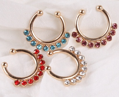 Fancy Gold Nose Rings