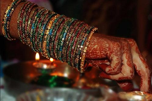 Full of Shades Bridal Bangles