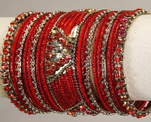 Glass Bridal Bangles