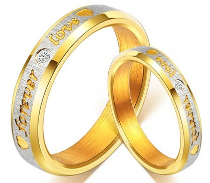 Gold Couples Rings