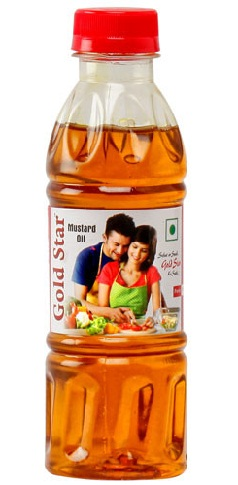 Gold Star Mustard Oil Brand