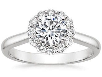 Halo Ring Design for Engagement