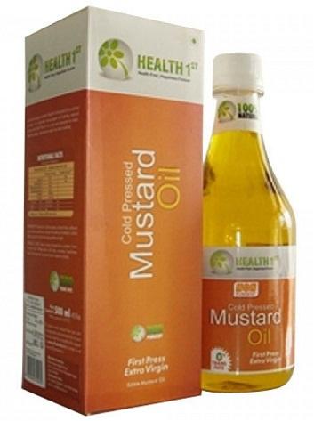 Health 1stMustard Oil Brand