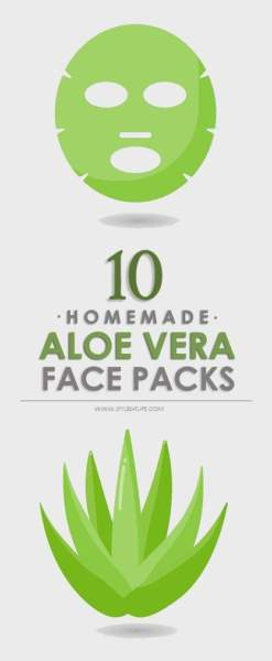 aloe vera face packs Main