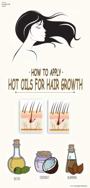 Hot Oil Massage For Hair Growth