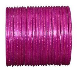 Hot Pink Simple Bangles