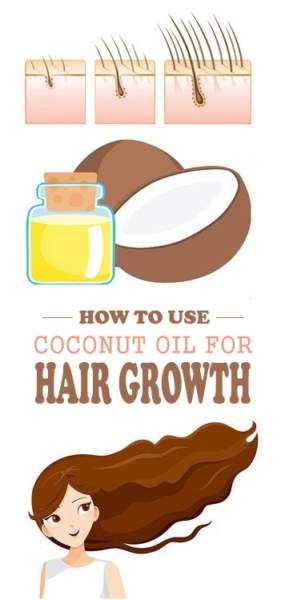 Coconut Oil For HairGrowth