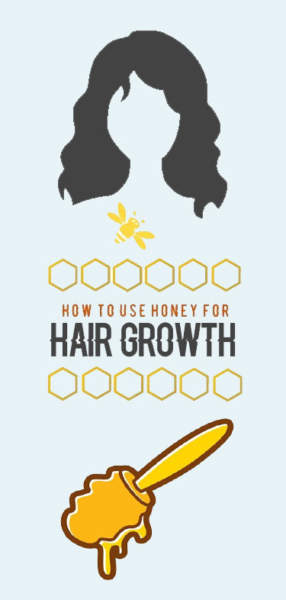 honey for hair growth