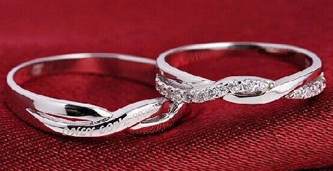 Infinity Couple Pair Ring