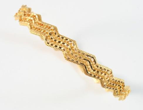 Intricate 20 Gram Gold Bangle