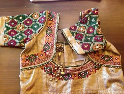 Jaipuri Maggam Work Blouse Designs Design
