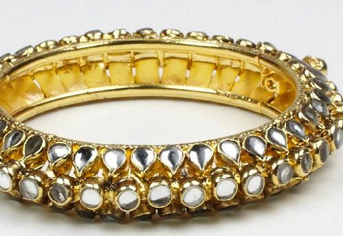 Kundan -Diamond Bangle Design