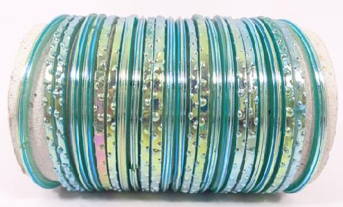 Light Green Glass Bangles