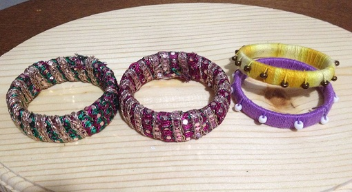 Making Designer Bangles