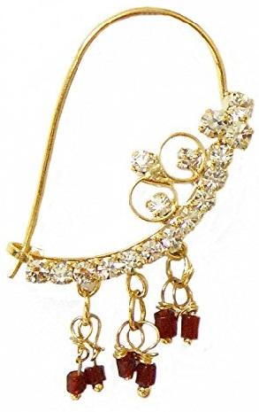 Marathi Diamond Nose Ring