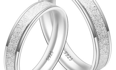 Matching Silver Couple Rings