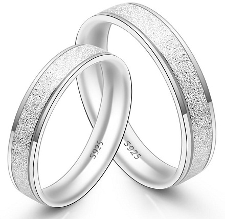 0d328494f333b Top 15 Silver Rings for Couples | Styles At Life