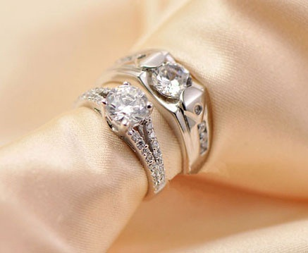 couple is forever image itm rose ring usa gold loading wedding love s about details set rings promise engagement