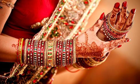Metal Bridal Bangles