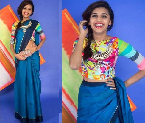 Multi Color Printed Blouse