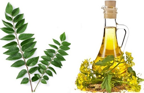 Mustard Oil with Curry Leaves