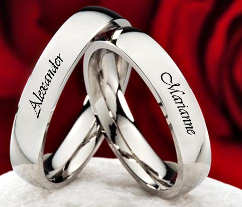 Metal Embossed Rings