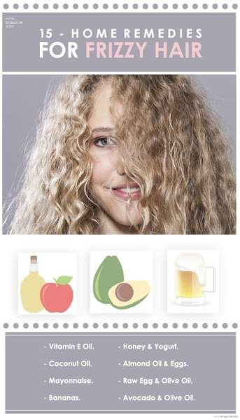 Natural Home Remedies For Frizzy Hair