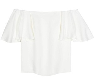 Off Shoulder white Blouse