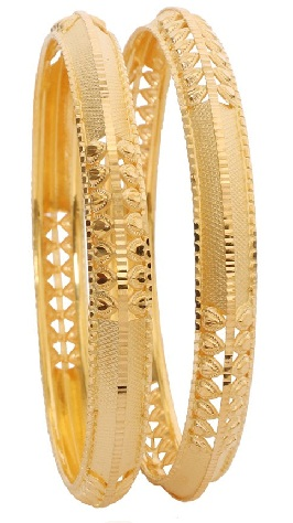 Office Wear 8gm Gold Bangles