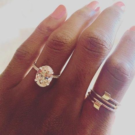 Oval Shaped 3 Carat Diamond Ring