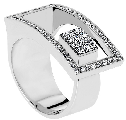9 New Designs of Designer Diamond Rings for Women