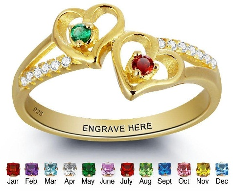 Personalized Engagement Rings for Couples