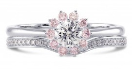 Pink Diamond Combo Ring
