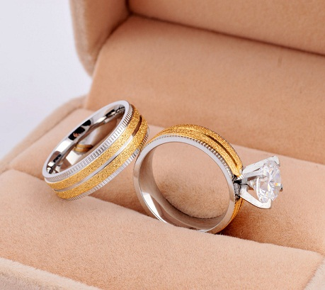 Popular Wedding Couple Ring Sets
