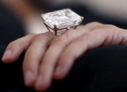Rare Diamond Ring With A Huge Size