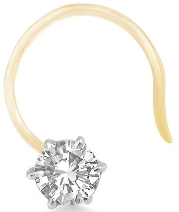 Real Diamond Nose Ring