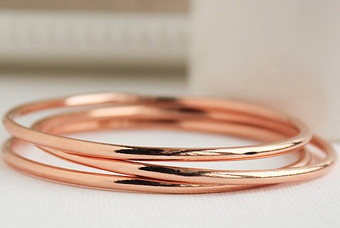Regular Rose Gold Bangles