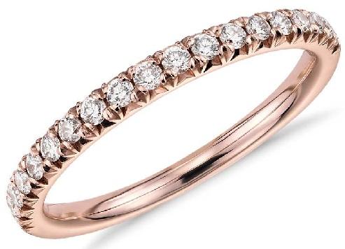 Rose Gold Diamond Rings for Women