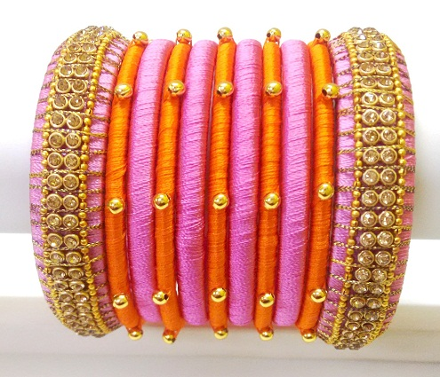 f93c21764af48 15 Latest Collection of Silk Thread Bangles in India 2019 Styles At Life