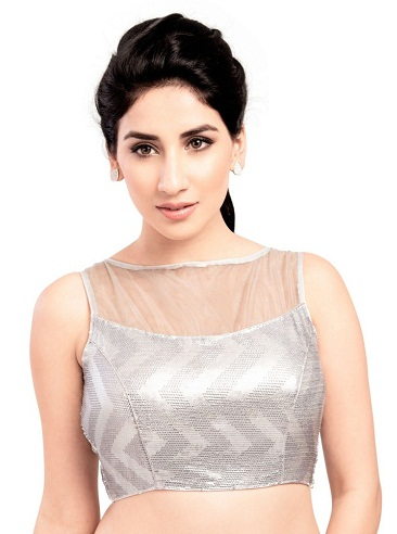 Silver Gorgeous Blouse