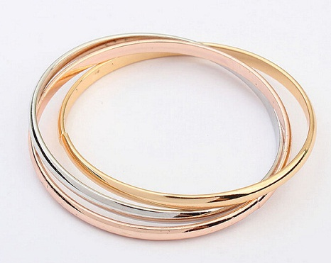 Simple Gold Plated Bangles