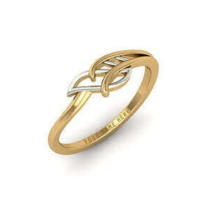 Simple Gold Ring Design without Stone