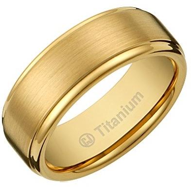 Simple Gold Rings for Men