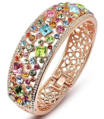Single Crystal Bangle