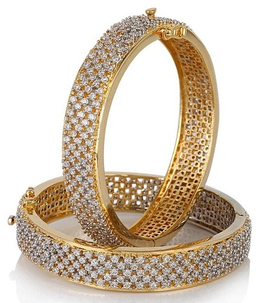 South Indian 1gm Gold Bangles